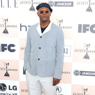 Samuel L. Jackson in The 2011 Film Independent Spirit Awards - Arrivals