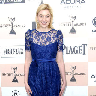 Greta Gerwig in The 2011 Film Independent Spirit Awards - Arrivals