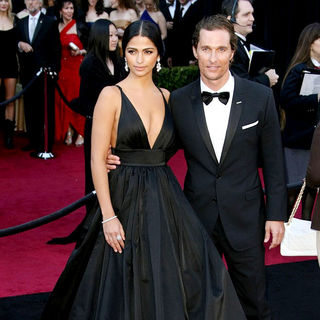 Camila Alves, Matthew McConaughey in 83rd Annual Academy Awards (Oscars) - Arrivals