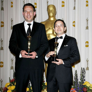 Andrew Ruhemann, Shaun Tan in 83rd Annual Academy Awards (Oscars) - Press Room