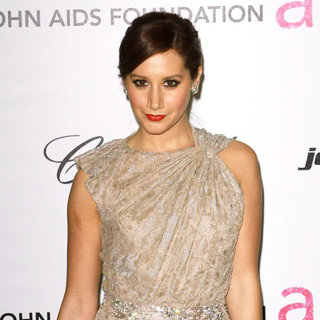 Ashley Tisdale in 19th Annual Elton John AIDS Foundation Academy Awards Viewing Party - Arrivals