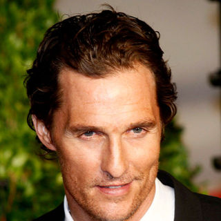 Matthew McConaughey in 2011 Vanity Fair Oscar Party - Arrivals