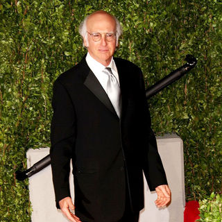 Larry David in 2011 Vanity Fair Oscar Party - Arrivals