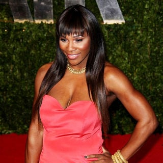 Serena Williams in 2011 Vanity Fair Oscar Party - Arrivals