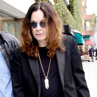 Ozzy Osbourne in Ozzy Osbourne Leaving A Doctor's Office in Beverly Hills