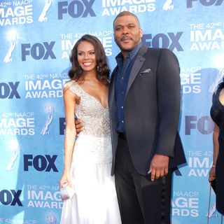 Tyler Perry in 42nd NAACP Image Awards - Arrivals
