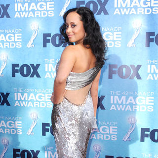 Essence Atkins in 42nd NAACP Image Awards - Arrivals