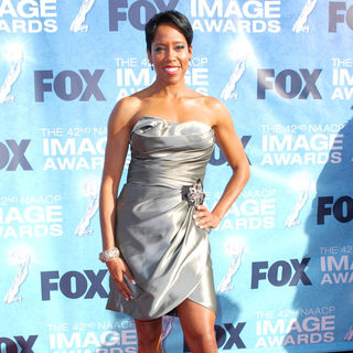 Regina King in 42nd NAACP Image Awards - Arrivals