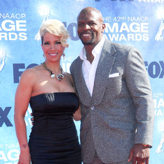 Rebecca King, Terry Crews in 42nd NAACP Image Awards - Arrivals
