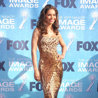 Salli Richardson in 42nd NAACP Image Awards - Arrivals