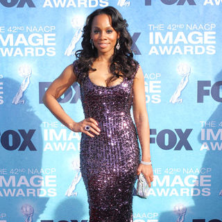 Anika Noni Rose in 42nd NAACP Image Awards - Arrivals