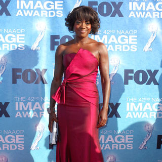 Viola Davis in 42nd NAACP Image Awards - Arrivals