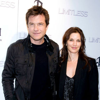 Jason Bateman, Amanda Anka in The New York Premiere of 'Limitless' - Inside Arrivals