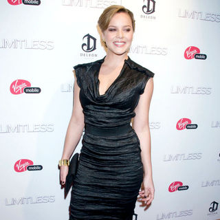 Abbie Cornish in The New York Premiere of 'Limitless' - Inside Arrivals