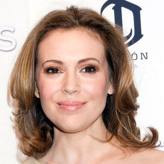 Alyssa Milano in The New York Premiere of 'Limitless' - Inside Arrivals
