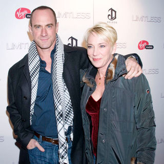 Christopher Meloni, Doris Sherman Williams in The New York Premiere of 'Limitless' - Inside Arrivals