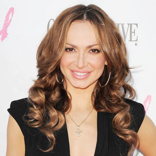 Karina Smirnoff in Ocean Drive Magazine Party