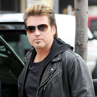 Billy Ray Cyrus Departs A Manhattan Hotel - wenn5624957