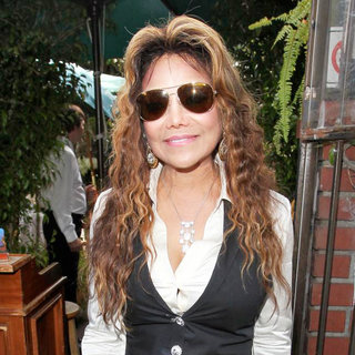 La Toya Jackson in Celebrities Depart Il Cielo in Beverly Hills After Attending The Birthday Party of Kathy Hilton