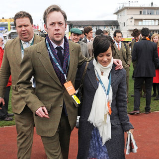 Sam Cooper, Lily Allen in Gold Cup Day at The Cheltenham Festival