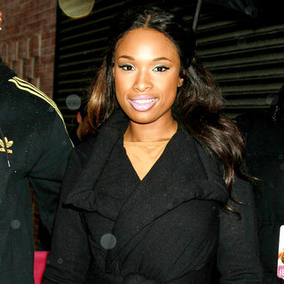 Jennifer Hudson in Jennifer Hudson Outside The 'Wendy Williams Show'