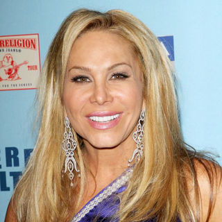 Adrienne Maloof in 'Perez Hilton's Blue Ball 33rd Birthday Celebration' - Arrivals