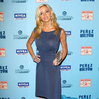 Camille Grammer in 'Perez Hilton's Blue Ball 33rd Birthday Celebration' - Arrivals