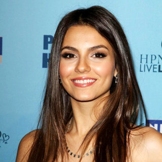 Victoria Justice in 'Perez Hilton's Blue Ball 33rd Birthday Celebration' - Arrivals