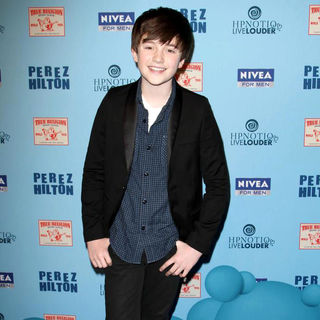 Greyson Chance in 'Perez Hilton's Blue Ball 33rd Birthday Celebration' - Arrivals