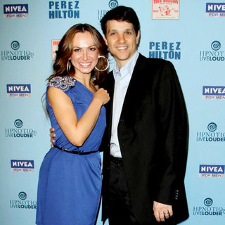 Karina Smirnoff, Ralph Macchio in 'Perez Hilton's Blue Ball 33rd Birthday Celebration' - Arrivals