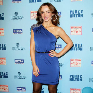 Karina Smirnoff in 'Perez Hilton's Blue Ball 33rd Birthday Celebration' - Arrivals