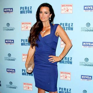 Kyle Richards in 'Perez Hilton's Blue Ball 33rd Birthday Celebration' - Arrivals