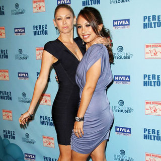 Kym Johnson, Cheryl Burke in 'Perez Hilton's Blue Ball 33rd Birthday Celebration' - Arrivals