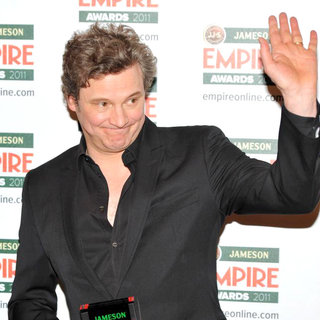 Colin Firth in The Jameson Empire Awards 2011 - Press Room