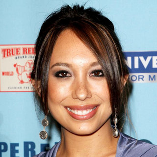 Cheryl Burke in 'Perez Hilton's Blue Ball 33rd Birthday Celebration' - Arrivals