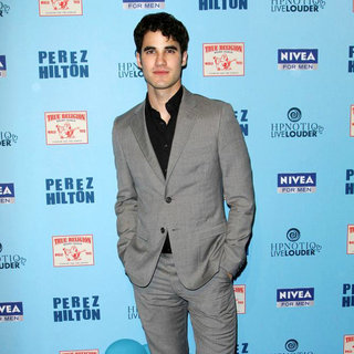 Darren Criss in 'Perez Hilton's Blue Ball 33rd Birthday Celebration' - Arrivals