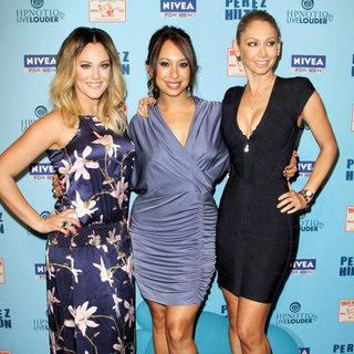 Lacey Schwimmer, Cheryl Burke, Kym Johnson in 'Perez Hilton's Blue Ball 33rd Birthday Celebration' - Arrivals