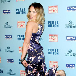 Lacey Schwimmer in 'Perez Hilton's Blue Ball 33rd Birthday Celebration' - Arrivals
