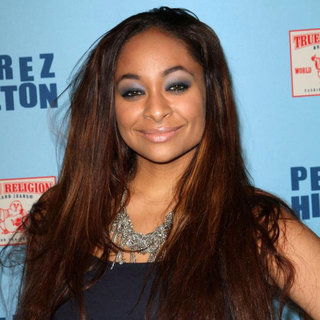 Raven-Symone in 'Perez Hilton's Blue Ball 33rd Birthday Celebration' - Arrivals