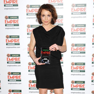 Noomi Rapace in The Jameson Empire Awards 2011 - Press Room