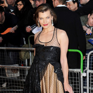 Milla Jovovich in Mikhail Gorbachev 80th Birthday Gala Concert - Arrivals