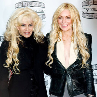 Victoria Gotti, Lindsay Lohan in 'Gotti: Three Generations' Press Conference