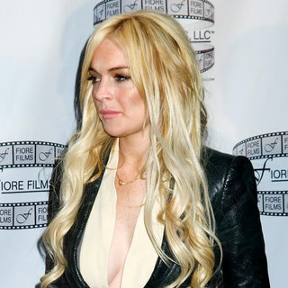 Lindsay Lohan in 'Gotti: Three Generations' Press Conference