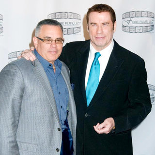 John Gotti Jr., John Travolta in 'Gotti: Three Generations' Press Conference