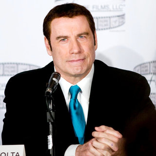 John Travolta in 'Gotti: Three Generations' Press Conference