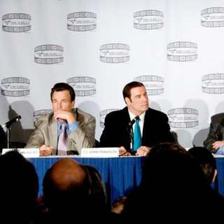 Nick Cassavetes, John Travolta, Marc Fiore, John Gotti Jr. in 'Gotti: Three Generations' Press Conference