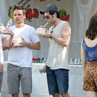 Shawn Pyfrom, Penn Badgley in Celebrities at The 2011 Coachella Valley Music and Arts Festival - Day 1
