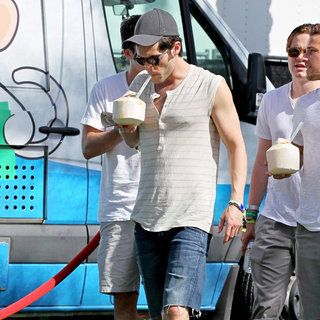 Penn Badgley, Dan Byrd in Celebrities at The 2011 Coachella Valley Music and Arts Festival - Day 1