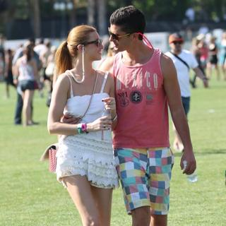 Whitney Port, Ben Nemtin in Celebrities at The 2011 Coachella Valley Music and Arts Festival - Day 1