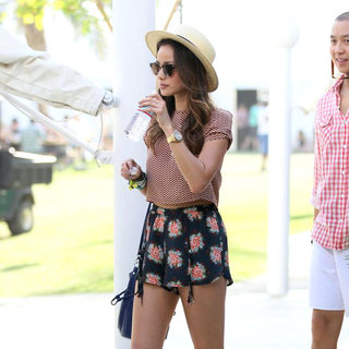 Jamie Chung in Celebrities at The 2011 Coachella Valley Music and Arts Festival - Day 1
